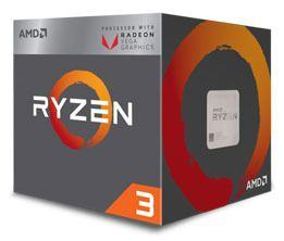 AMD YD3200C5FHBOX CPU  Ryzen 3 3200G 3.6/4 GHz AM4