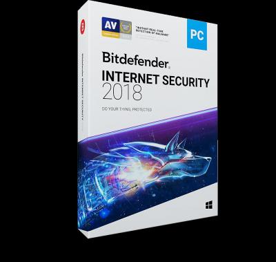 BDEFENDER 5949958011209 Bitdefender İnternet Security2018 5U-1Y