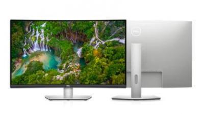 "DELL S3221QS S-Series Monitor, 31.5"" CURVED 4K UHD 3840X2160 4ms 75Hz HDMI, DP USB"