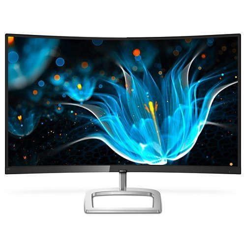 PHILIPS 499P9H-00 Brilliance 32:9  48,8′ SuperWide kavisli LCD ekran