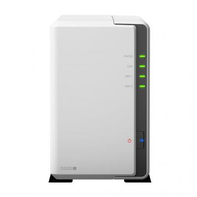 "SYNOLOGY DS220J NAS SERVER 2AD 3,5"" DISK DESTEKLI STORAGE"