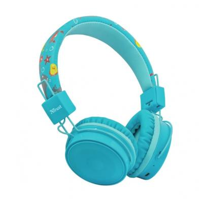 TRUST 23607 COMI BT KIDS HEADPHONES BLUE