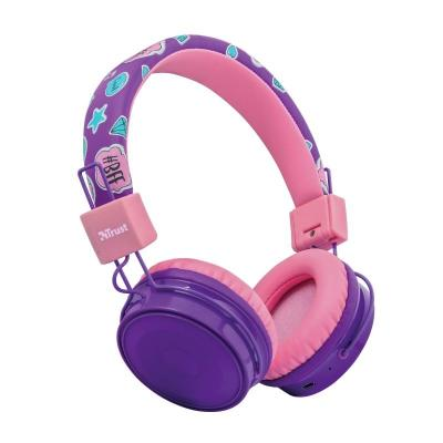 TRUST 23608 COMI BT KIDS HEADPHONES PURPLE