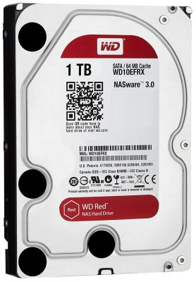"WD WD10EFRX 1TB Red 5400RPM 64MB Sata 3.0 3.5"" Dahili Disk"