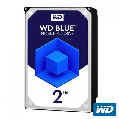 "WD WD20SPZX 2TB Blue Sata 3.0 5400RPM 128MB 2.5"" Dahili Notebook Diski"